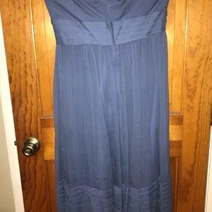 J. Crew Dresses - J.crew strapless chiffon dress